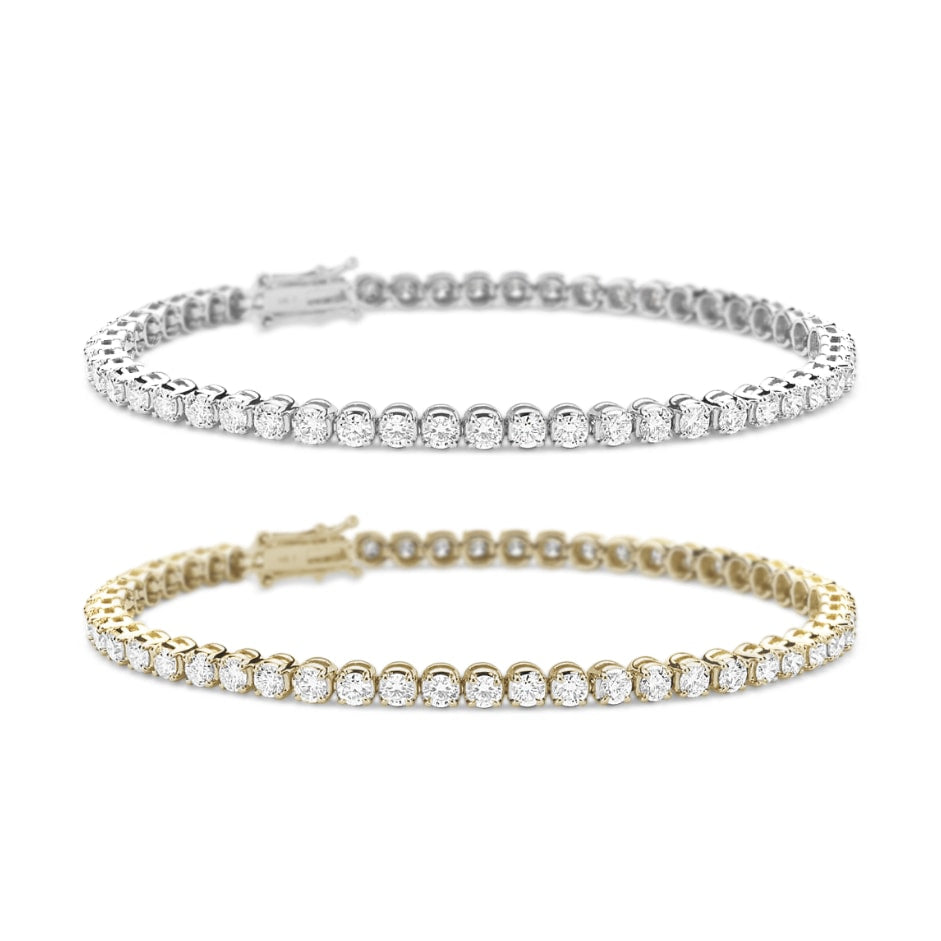 [PROMO SET] Athena 4 Prong Bracelet Diamond Set