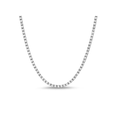 [PROMO BUNDLE] Monette 4 Prong Necklace Bracelet Diamond Set