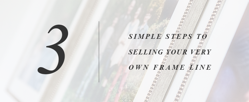 Our step-by-step guide to selling frames