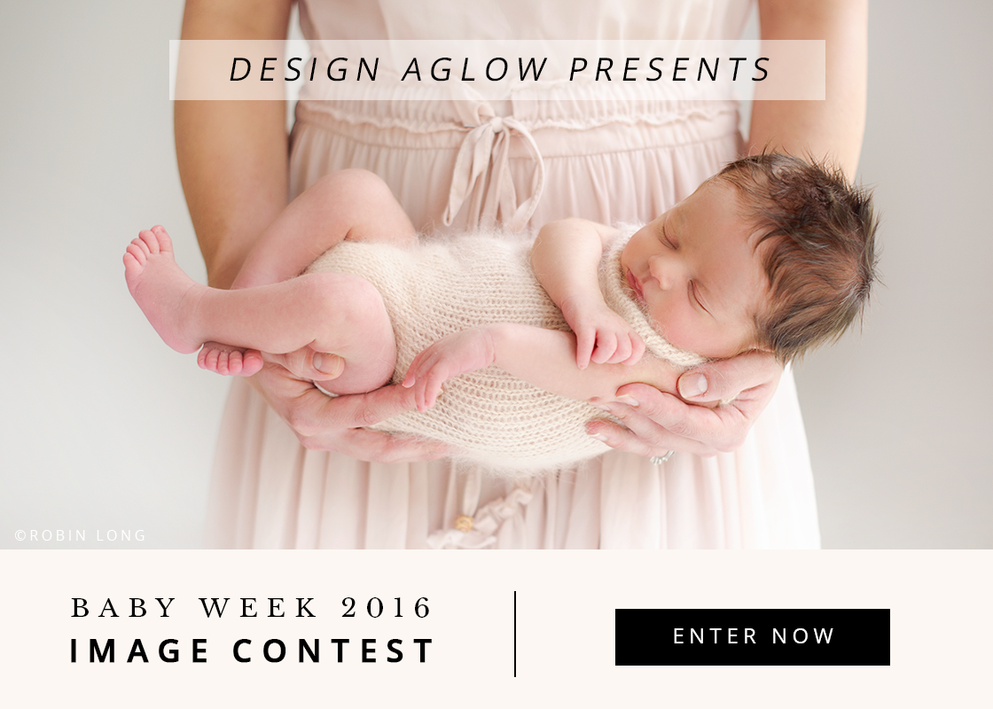 Design Aglow's Baby Week 2016: Image Contest