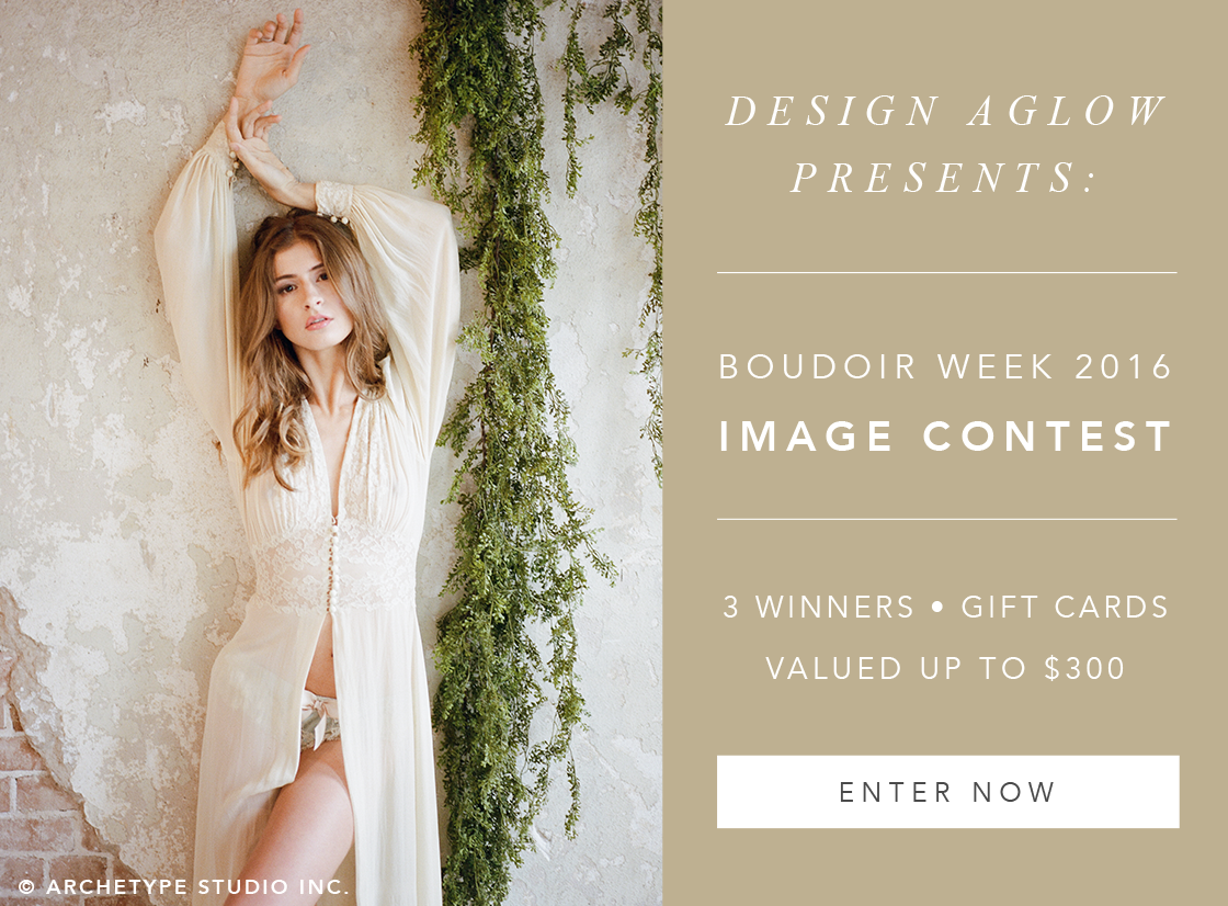Design Aglow's Boudoir Week 2016: Image Contest