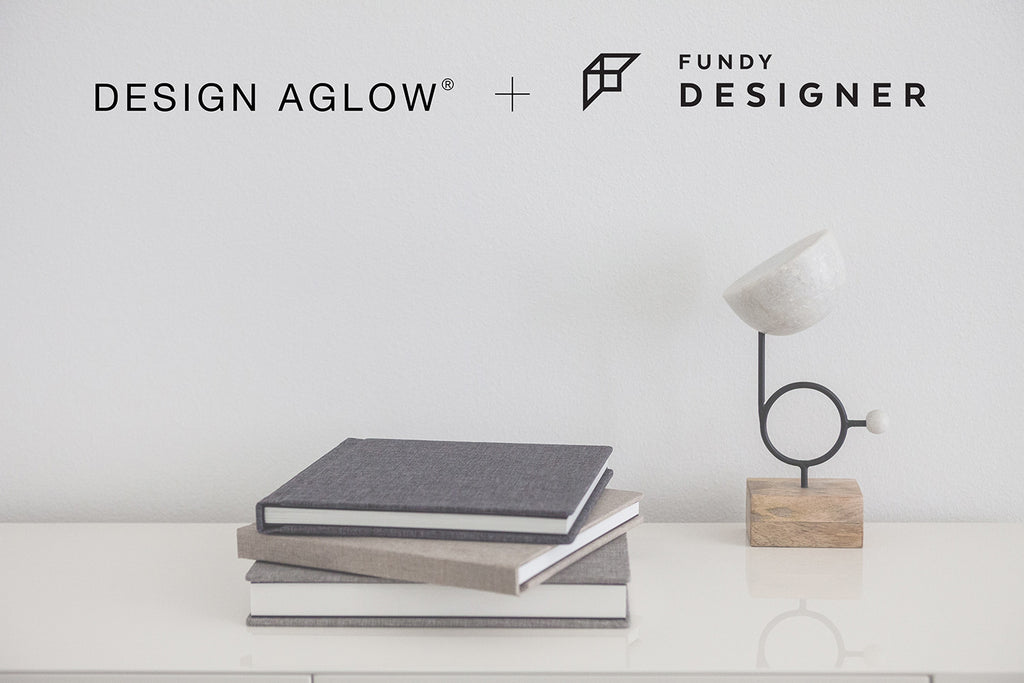 Design Aglow + Fundy = Easy heirloom albums