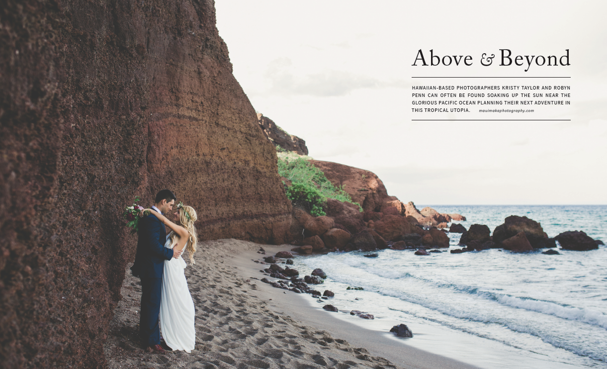 Peek Inside: AGLOW Magazine Vol 3 with Maui Maka Photography