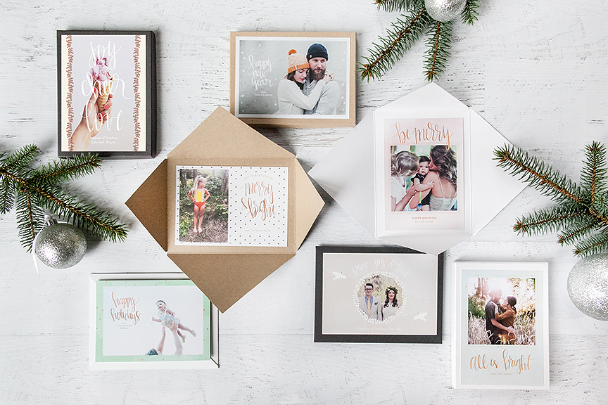 Holiday Cards: Artist's Brush Collection is here!