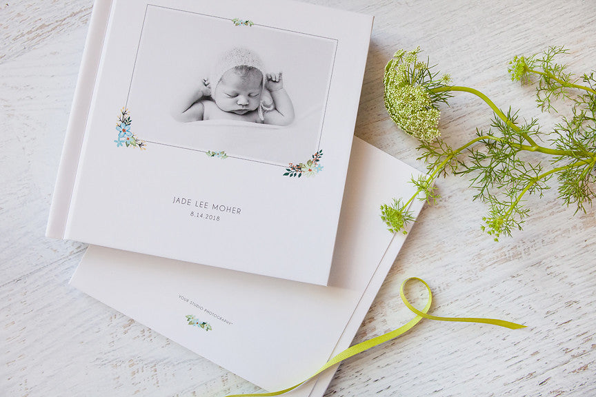 Product Spotlight: Album Templates: Bohemian Baby Book