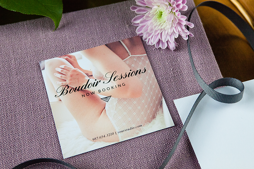 Product Spotlight: Boudoir Promo Kit