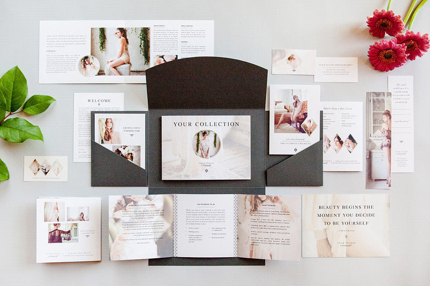 Product Spotlight: Boudoir Welcome Packet: Modern Romance Edition