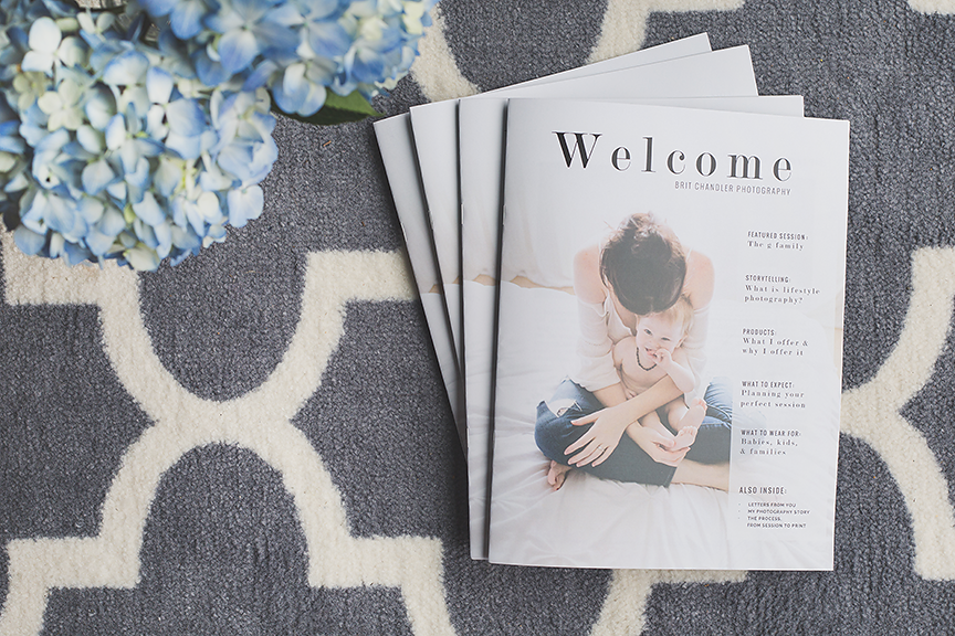 Welcome New Clients With a Luxe Magazine