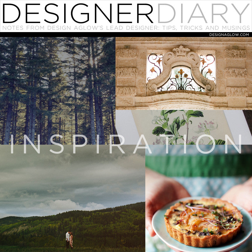Designer Diary: Things That Have Inspired Me This Year