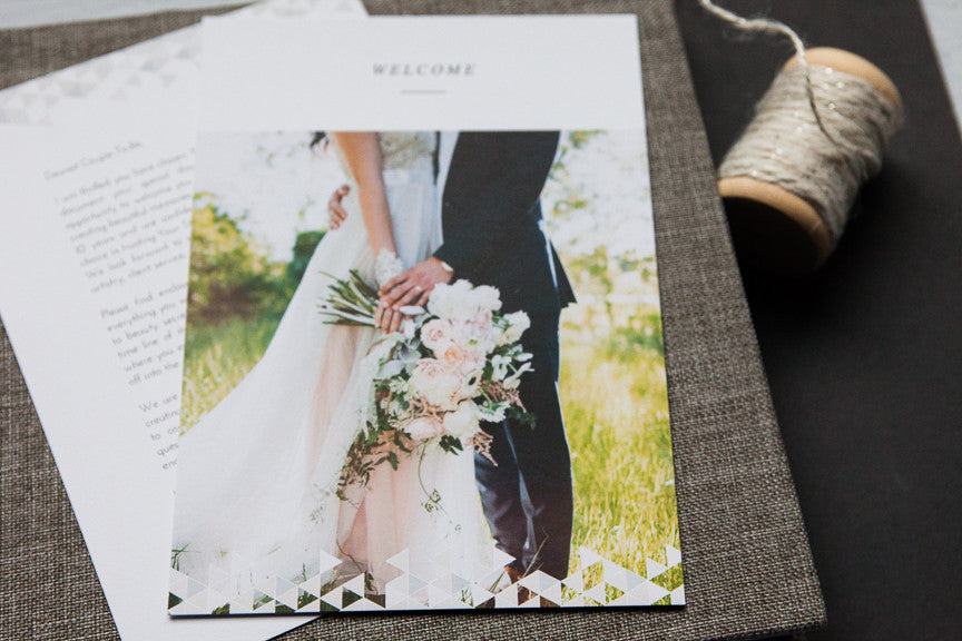 Product Spotlight: Wedding Welcome Packets