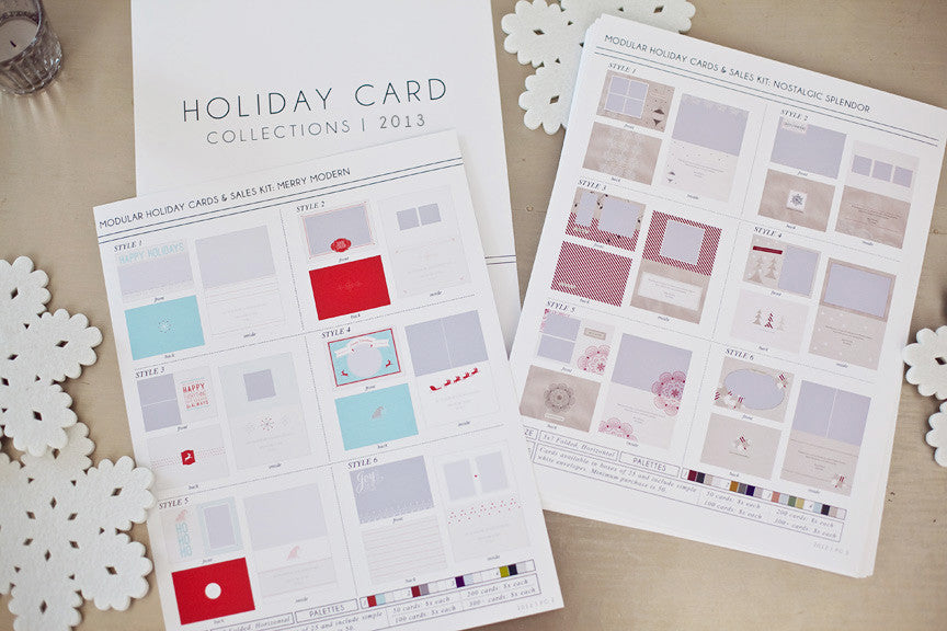boost your sales with the studio holiday card catalog!