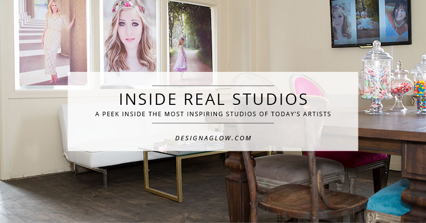 inside real studios: michelle arnold portraits