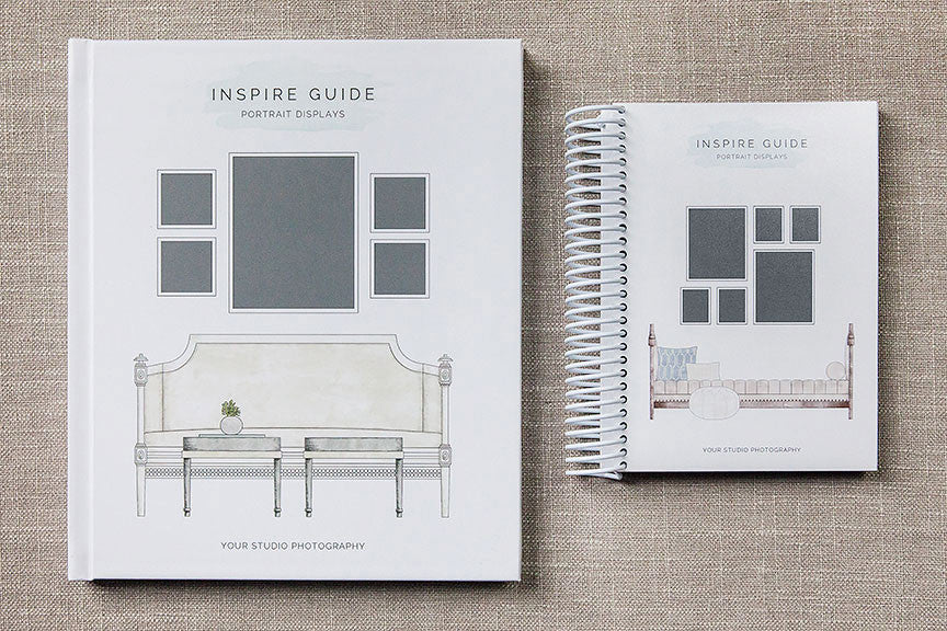 Sell more with our hand-drawn Inspire Guide!