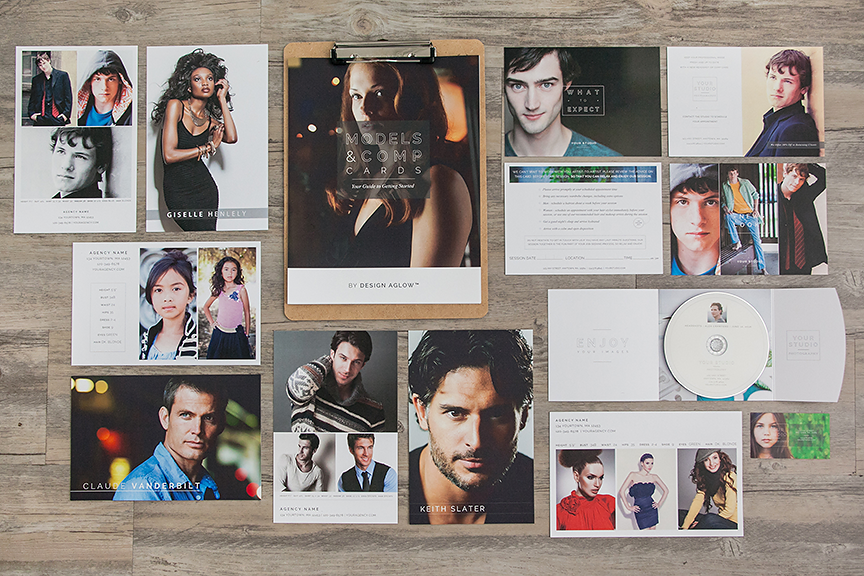 models and comp cards: your guide to getting started