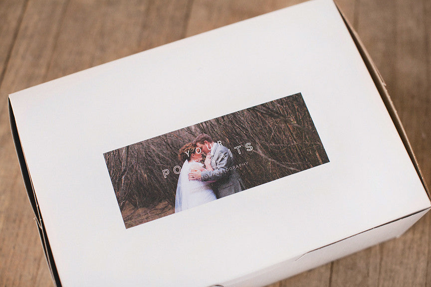luxurious, personalized photo packaging