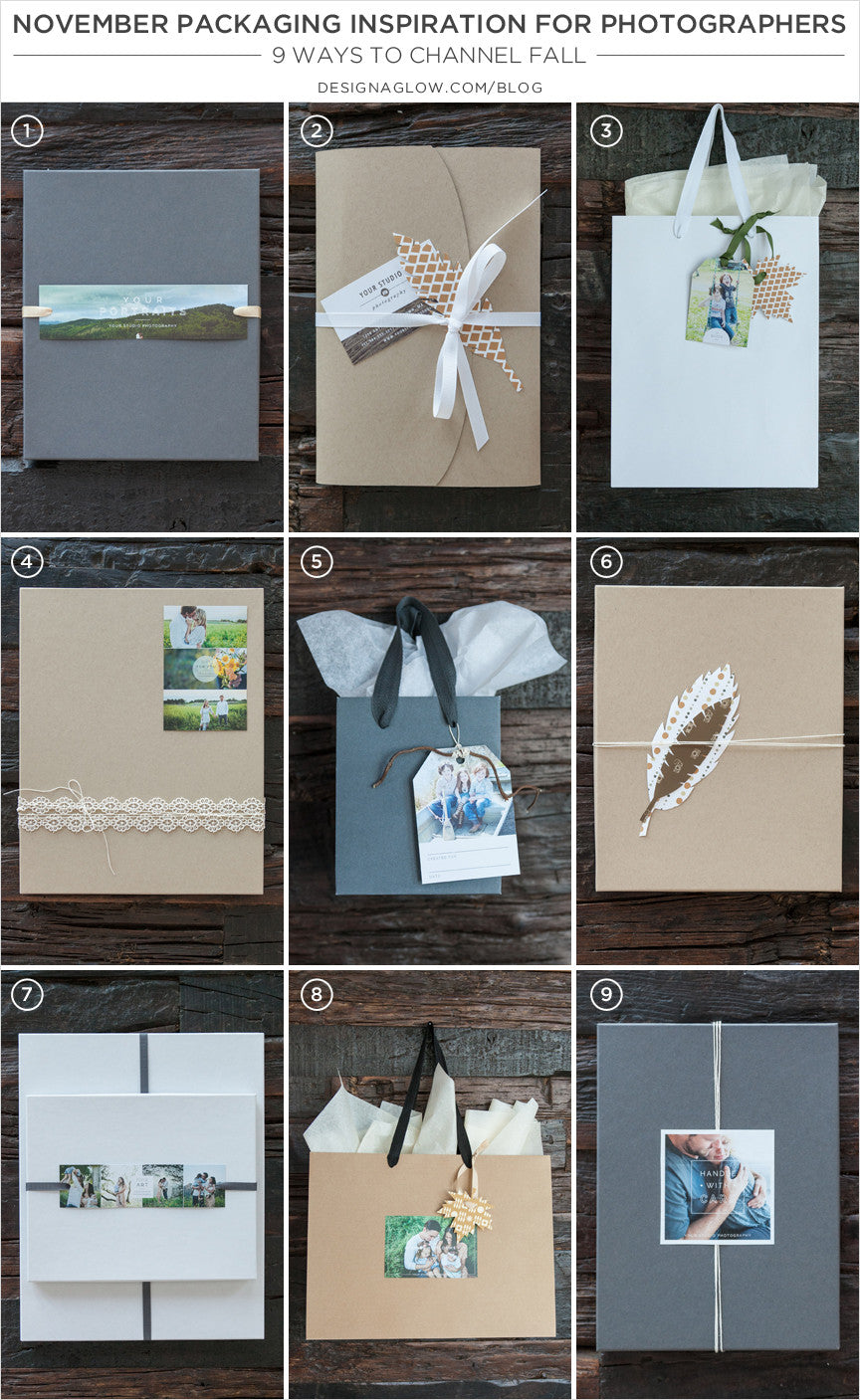 November Packaging Inspiration for Photographers: 9 Ways to Channel Fall