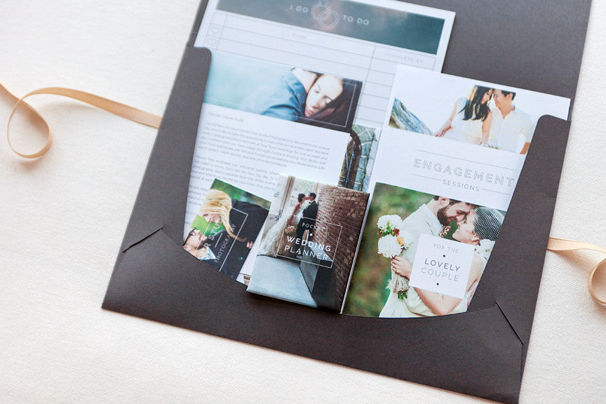 Product Spotlight: Modern Minimalist Welcome Packets