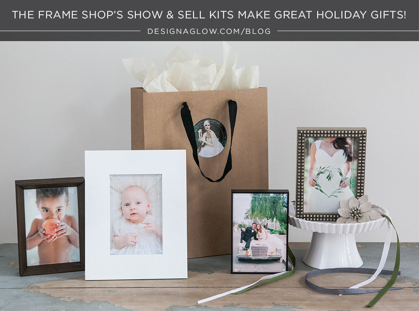 the frame shop's show & sell kits make great holiday gifts!