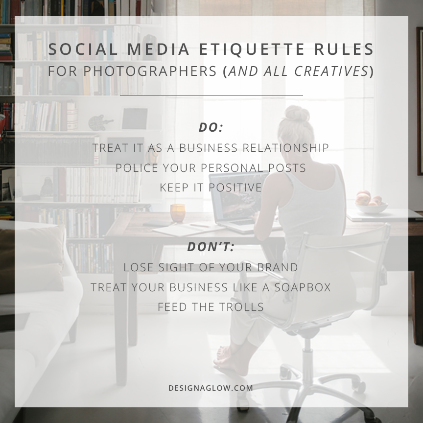 6 Social Media Etiquette Rules for Photographers (and all Creatives)