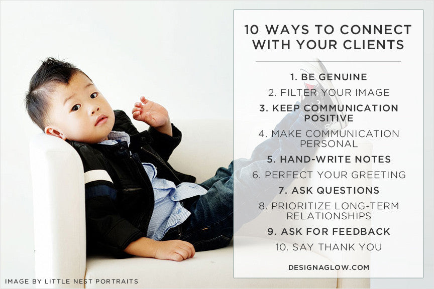 Ten Ways To Connect With Your Clients