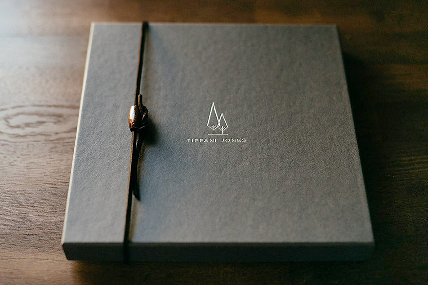Luxe Studio Presentation with Custom Embossed Packaging