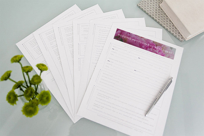 Product Spotlight: Wedding Forms Bundle