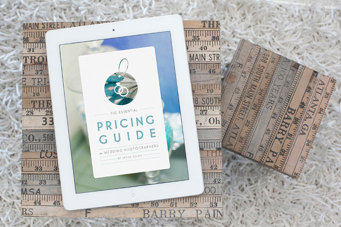 Product Spotlight: Pricing Guide for Wedding Photographers