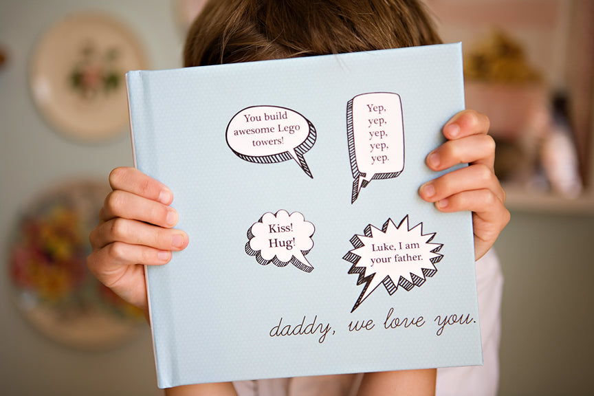 diy fathers day book