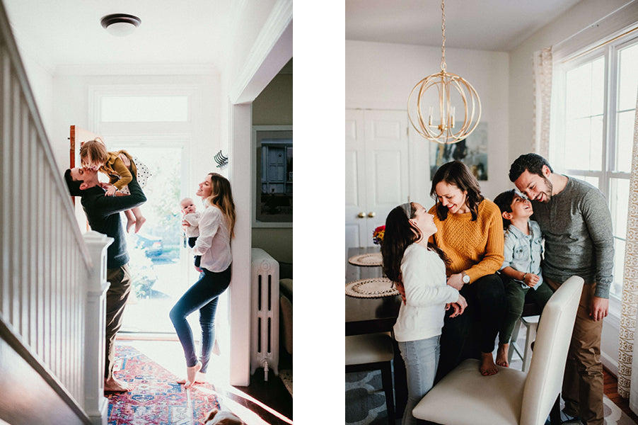 The Heart of Home In-Home Family Session