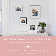 Mother's Day Photography Promo Kit for Pro Photographers