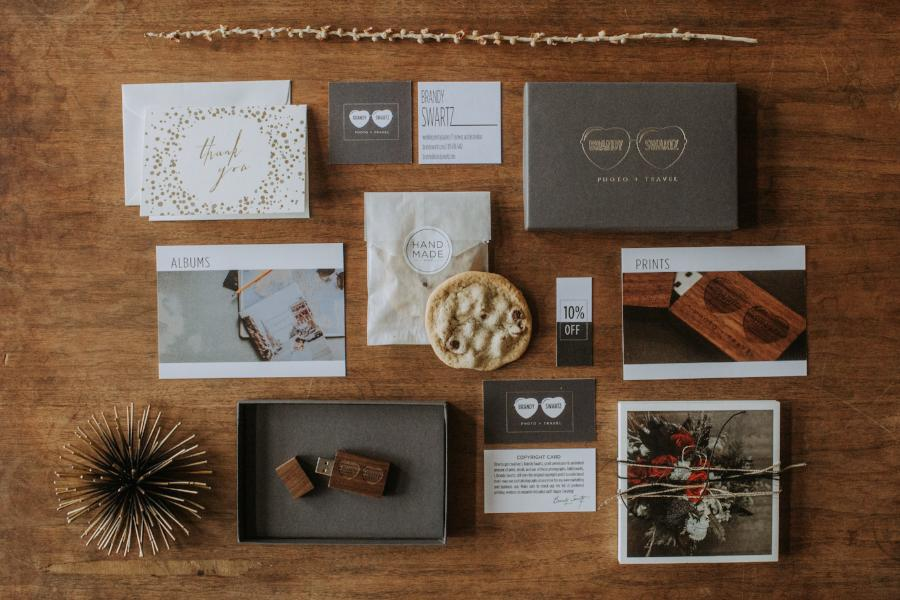 Brandy Swartz Photography Packaging and Branding