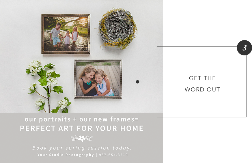 Spring Session Promo Kit for Photographers
