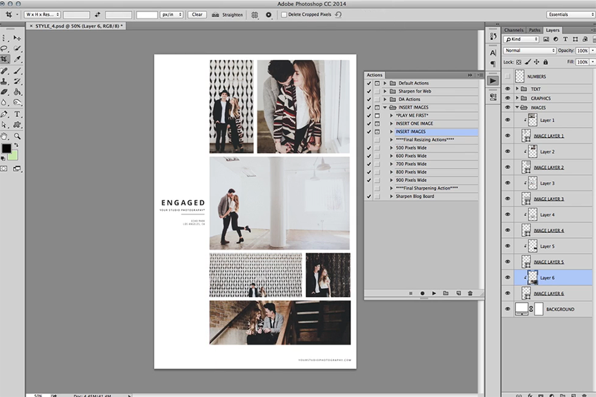 Design Aglow Templates: Photoshop and InDesign Templates for Photograp