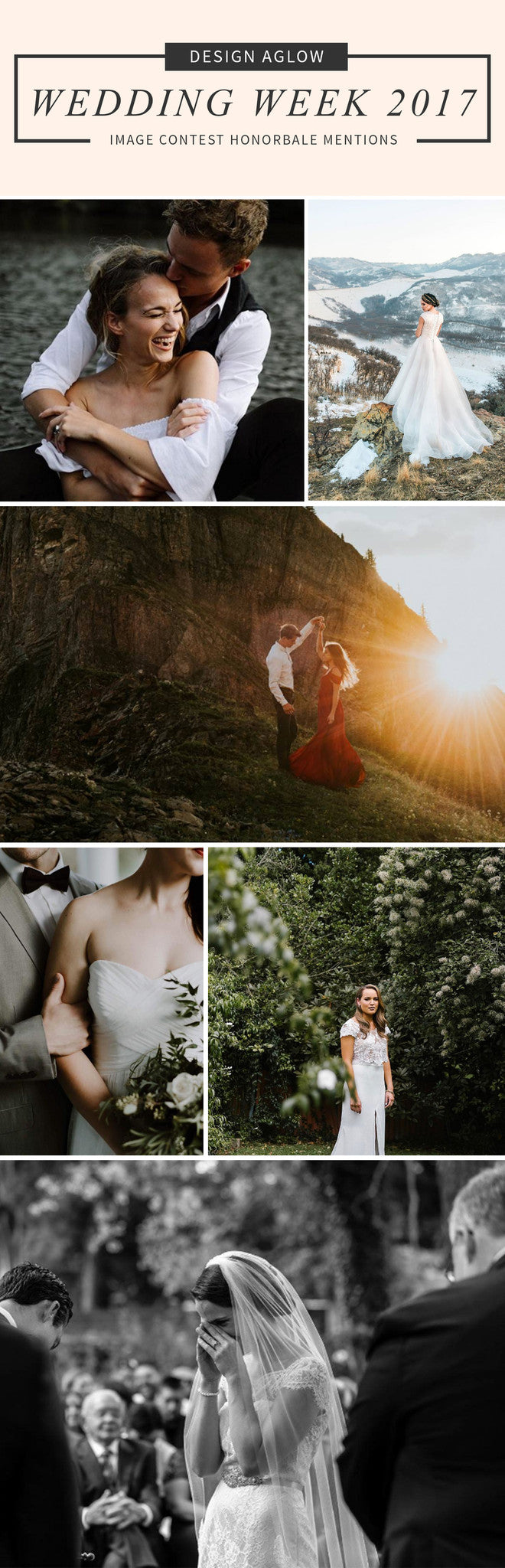 DESIGN AGLOW WEDDING WEEK 2017 IMAGE CONTEST HONORABLE MENTIONS