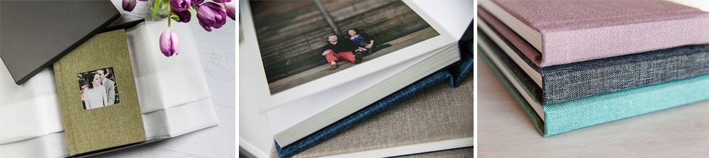 Professional Linen Albums for Photographers