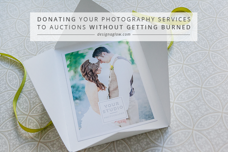 donating to auctions without getting burned