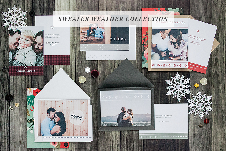 Photoshop Card Templates for Holiday