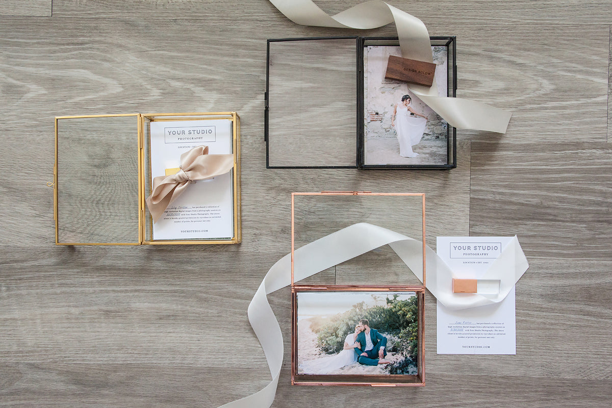 4x6 Glass Photo Boxes