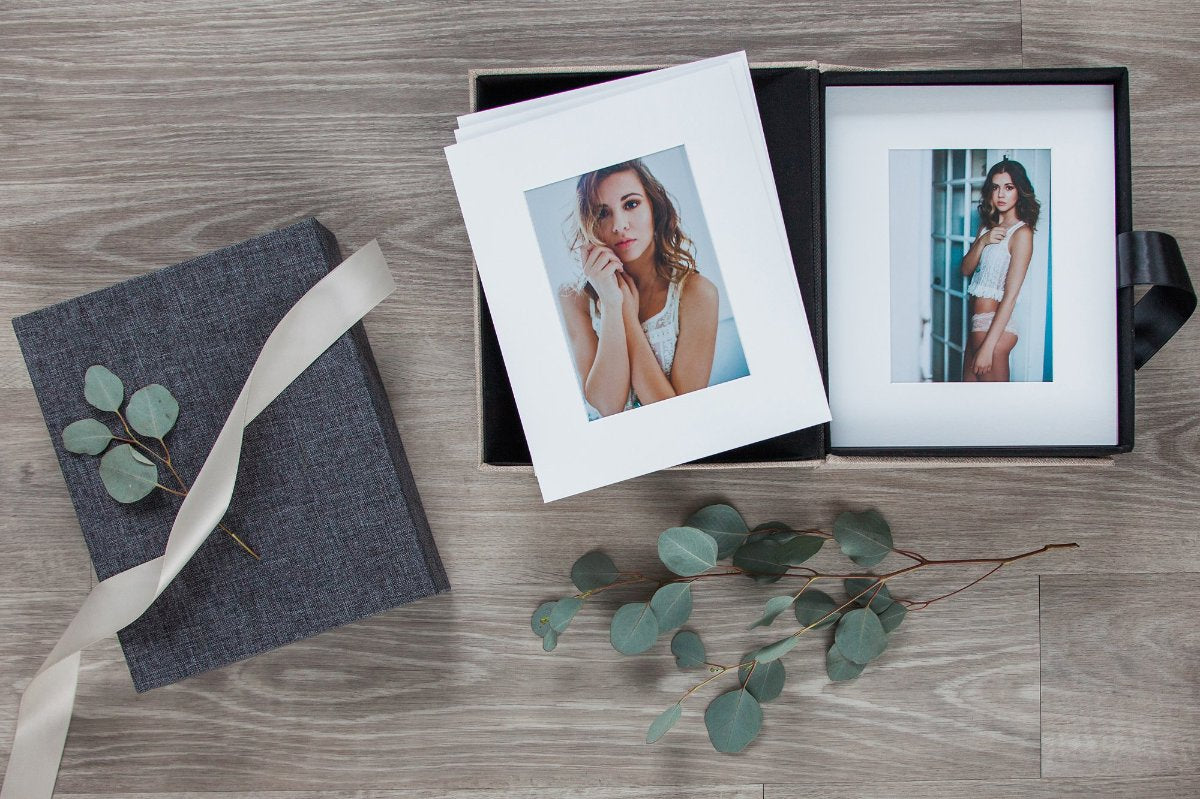 Keepsake Portfolio Boxes for Photographers