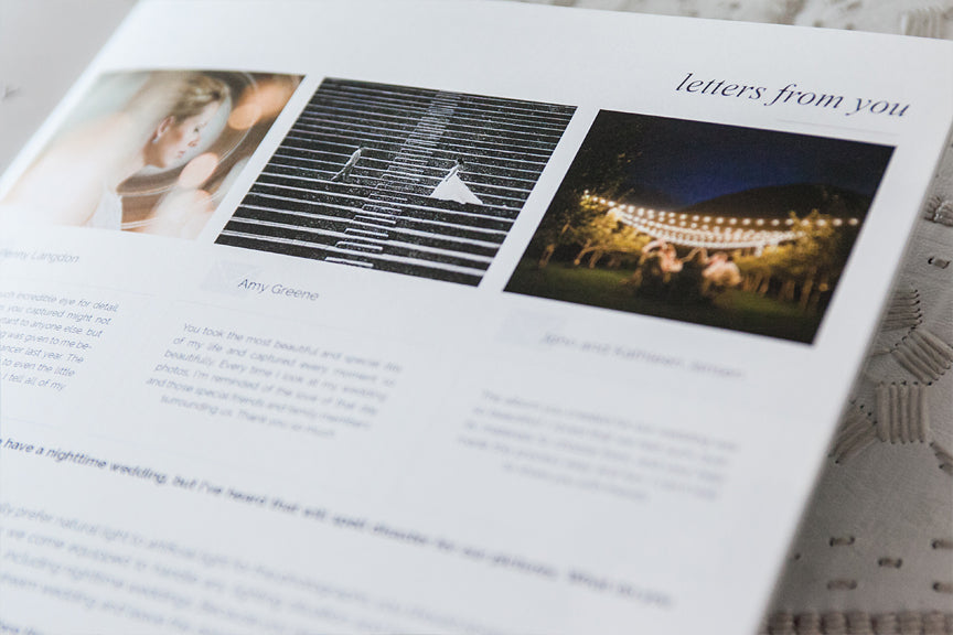 minimalist magazine template for photographers