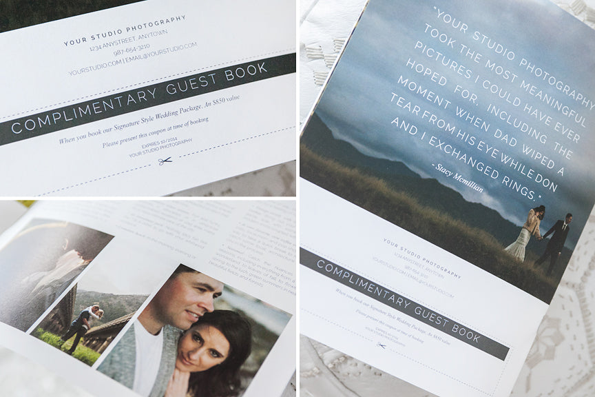 minimalist style magazine templates for professional photographers