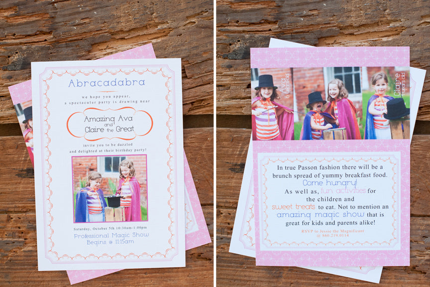 kids party templates for photographers