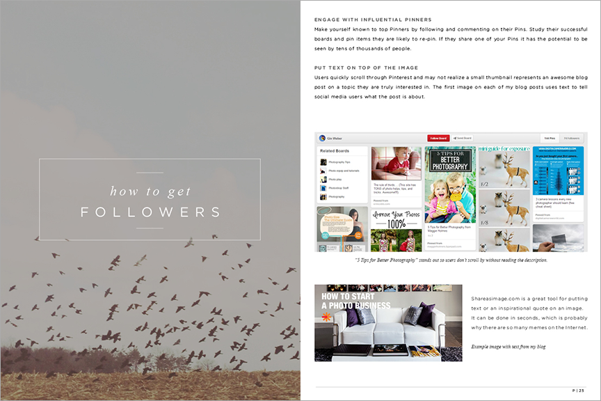 How to get more followers on pinterest - pinterest for photographers
