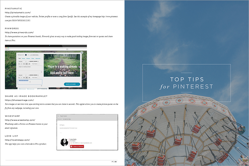 Top tips and tools for pinterest for photographers