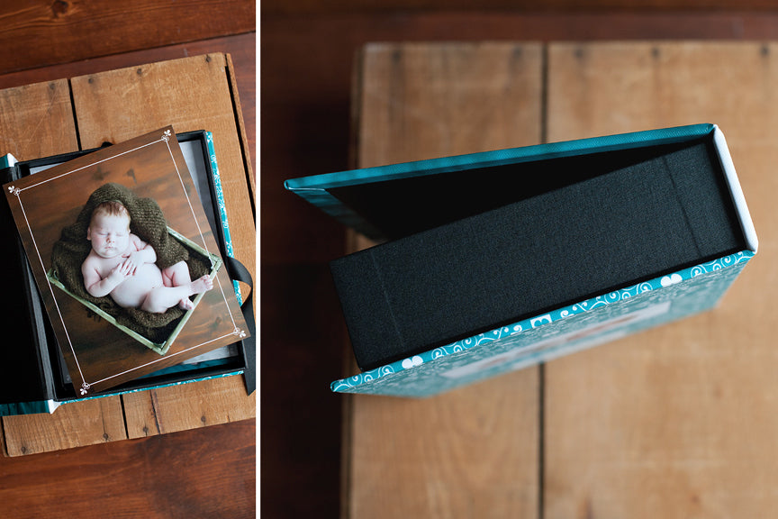 baby photoraphy keepsake box