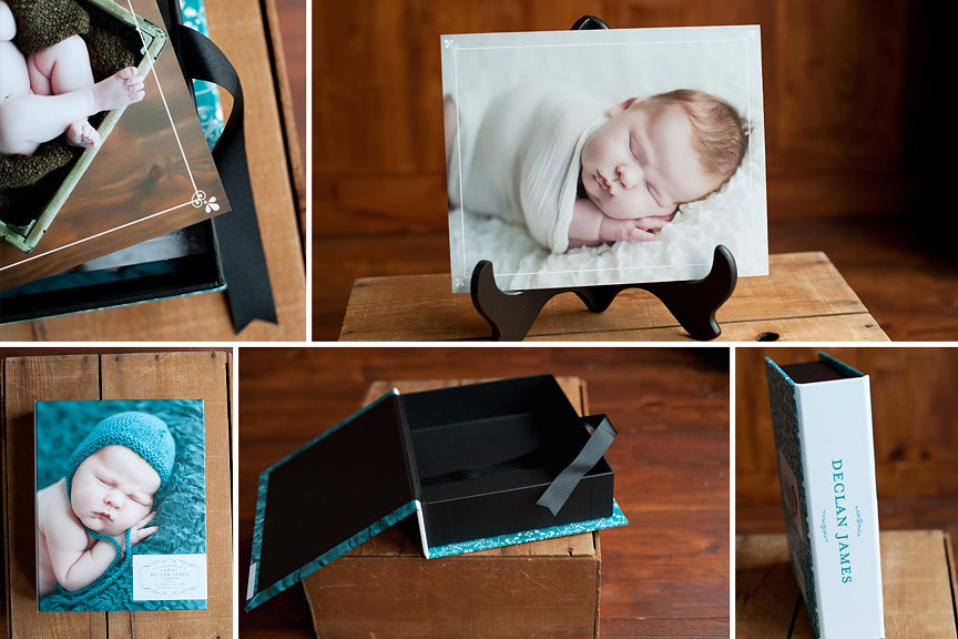 baby photography print borders