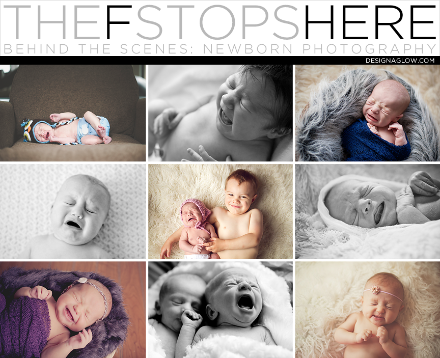 The f stops here behind the scenes of newborn photography
