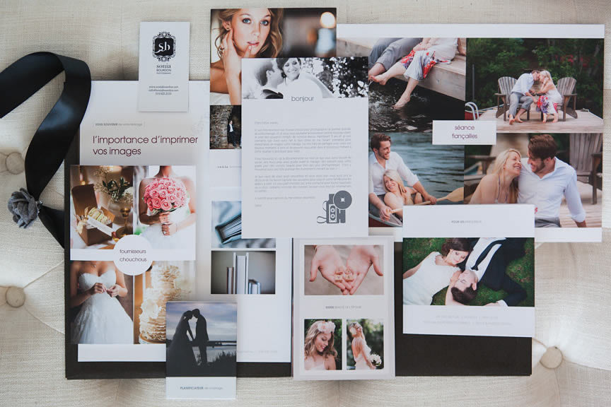 wedding welcome packet templates for professional photographers