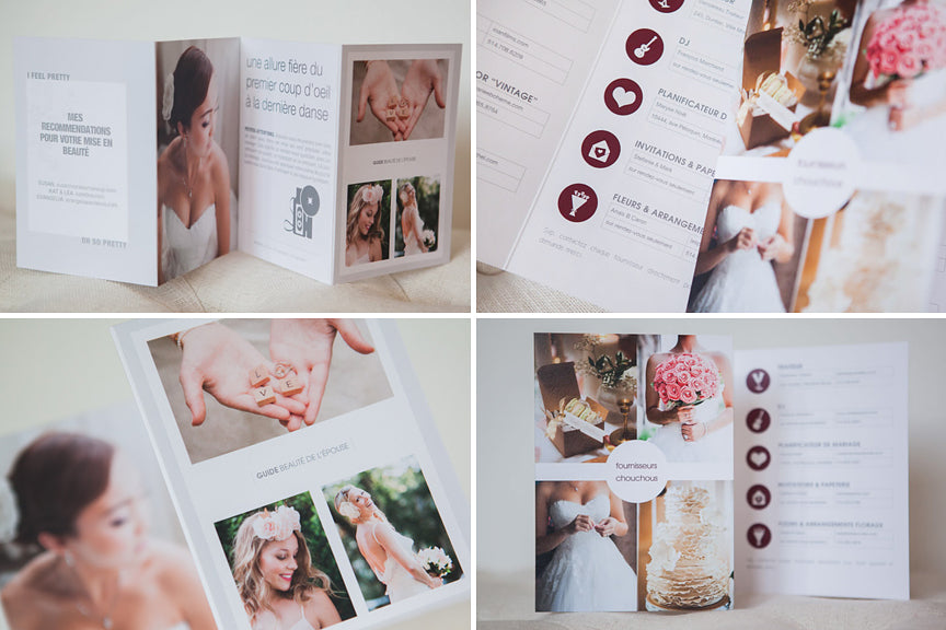 design aglow wedding welcome packet templates for photographers