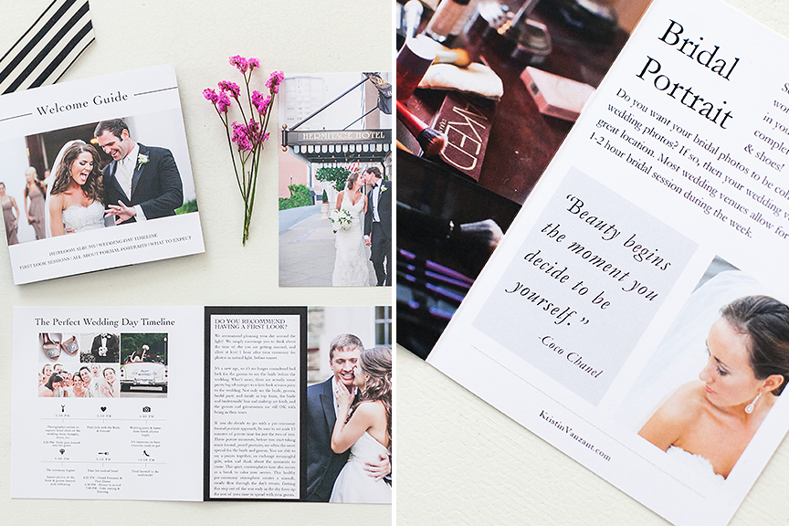 Wedding Welcome Kit for Photographers